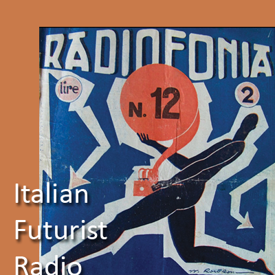 cover 'Radiofonia' journal from 1930s