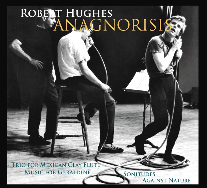 Anagnorisis audio CD virtuoso performances for Flute, Bass Clarinet, Trombone, Cello, Korean Piri by Robert Hughes